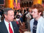 Andy Cunningham chats with Martin O'Malley, Governor of Maryland